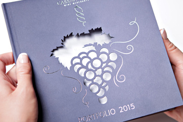 creative design services for cassidy wines