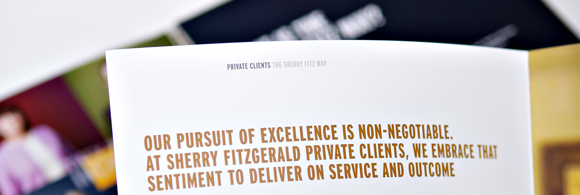 creative design project for sherry fitzgerald